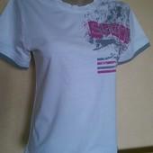 Спортивная футболка slazenger р. S Хлопок. сток