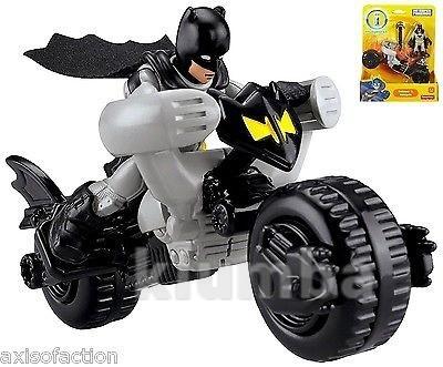 Бетмен на мотоцикле fisher price imaginext фото №1