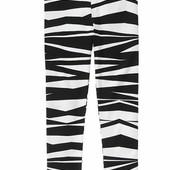 Стильные лосины зебра Gymbore 5,6 лет