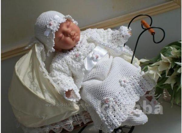 Костюм для крещения ,праздников,фотосессий  девочки lilianna ( 56 рост )jozefinka фото №1