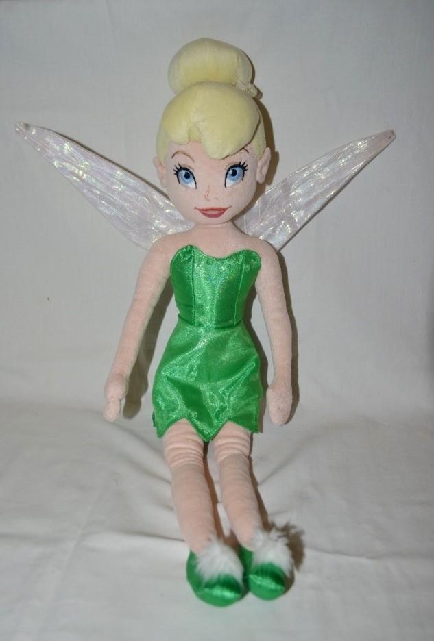 Фирменная мягко набивная кукла принцесса дисней disney фея динь динь тинкер белл фото №1