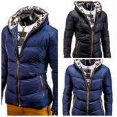 зимняя мужская  теплая куртка