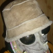 Фірмова теплая зимняя панама шапка .