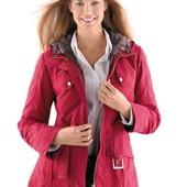 Деми куртка ветровка с подкладкой, 44р красная, Испания, новая