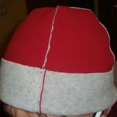 Фірмова флісова стильна шапка шапочка .