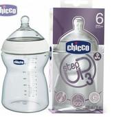 Бутылочка для кормления Chicco Чико Step Up3 пластик 330 мл Оригинал