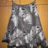 #0002 Модная теплая юбка