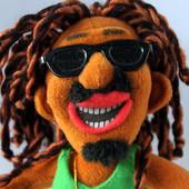 Мягкая игрушка гитарист из Ямайки