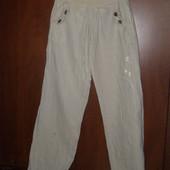 Легкие штаны брюки для дома или дачи 42р.