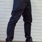 Стильные брюки из хлопковой ткани Mast have темно синий