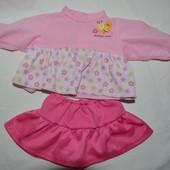 Одежда для любимых кукол кофточка и юбка