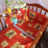 Комплект детского постельного белья в кроватку + подарки