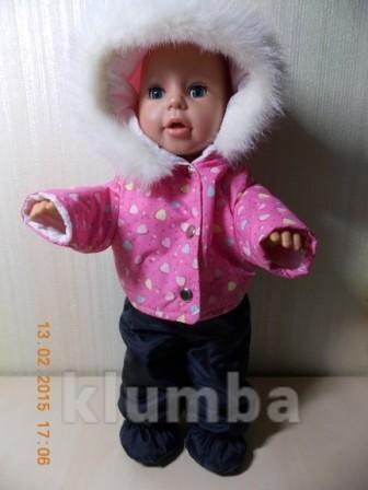 Классная одежда для куклы bаby born.хороший выбор на подарки! фото №1