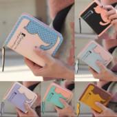 Милый, вместительный кошелек с Котиком, 4 цвета, новый