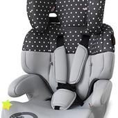 Автокресло Bertoni Junior (grey dots) 17712, качество отличное, доставка бесплатно!