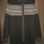 пижама комбинезон слип флисовый-размерS рост 180-186см