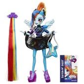 My Little Pony кукла equestria girls стильные прически - Рейнбоу Дэш/радуга, B1038