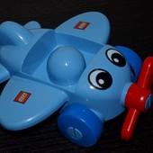 Большой lego duplo лего дупло самолет оригинал