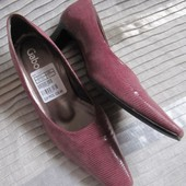 Туфли женские на каблучке лазерная кожа Gabor Австрия (5)