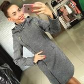 "Пальто модель ""Moschino"" .Новинка 2017"