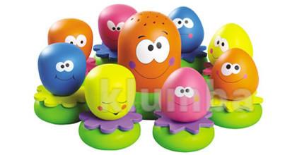 2756 игрушка для купания веселые осьминоги tomy томи брызгунчики осьминожки фото №1