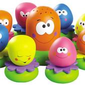 2756 игрушка для купания Веселые Осьминоги Tomy Томи новые
