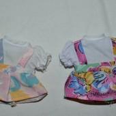 Платья платьица для кукол куколок маленьких