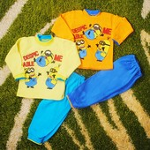 Распродажа.Тёплые пижамы, на байке рост от 80см до 128см