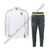 Спортивный костюм Adidas Реал Мадрид presentation tracksuit 2016 White (1788)