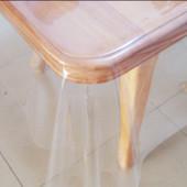 Прозрачное силиконовое покрытие для защиты деревянного и стеклянного стола