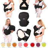 Рюкзак кенгуру переноска для детей Rainbow Womar15 excluzive