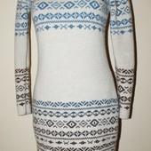 Вязание на заказ, платье из натуральной шерсти
