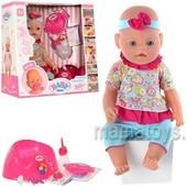 Пупс Кукла Baby Born. 8001-8. Беби Борн. 9 функций. 2 соски
