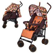 Бемби 3425 коляска детская прогулка трость Bambi прогулочная