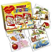 Настольная игра Puzzle игротека 3в1
