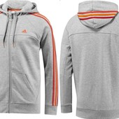 Джемпер ​Аdidas Ess 3 Stripes Full Zip оригинал