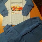 Пижама для мальчика на баечке 122 размер