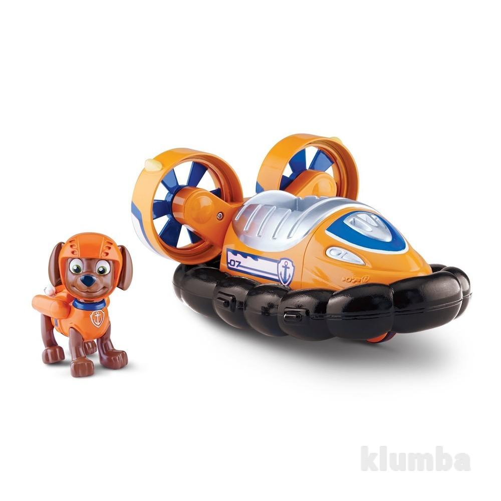 Nickelodeon, paw patrol - zuma's hovercraft зума со спасательным автомобилем щенячий патруль фото №1