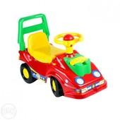 Машинка-каталка Технок с телефоном. Разные цвета. Артикул 2490