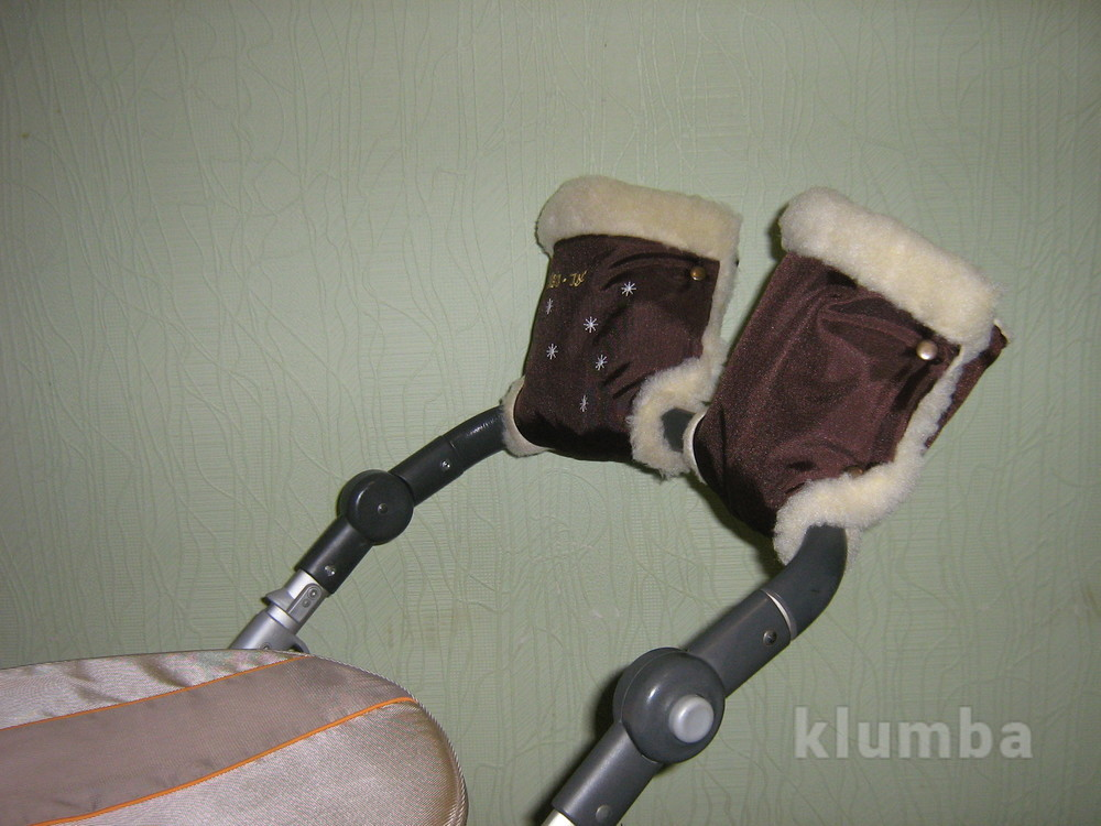 Перчатки - муфта на коляску и санки 88886 фото №1