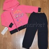 Детский костюм для девочки *Love* р.98,104,110