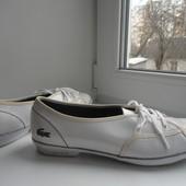 Фирменные туфли спортивного стиля Lacoste.Раз.40
