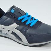Мужские кроссовки Black & White & Blue