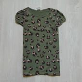 Стильная футболочка H&M для девочки, размер 6-8 лет, состояние новой вещи.