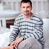 Теплая махровая пижама , тм регина(польша) , размер Л и ХХЛ