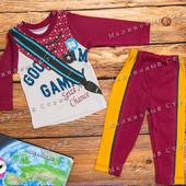 Костюм на мальчика 68 74 80 размер, штаны кофта 6 9 12 месяцев, спортивный костюмчик хлопок Турция