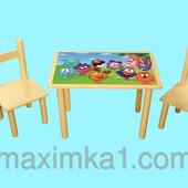 Детский столик Смешарики, производство Украина
