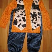 костюм ковбой, Германия на 4-6 лет 110-116