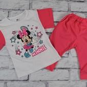 Детский костюм футболка + бриджи от 1 до 7 лет