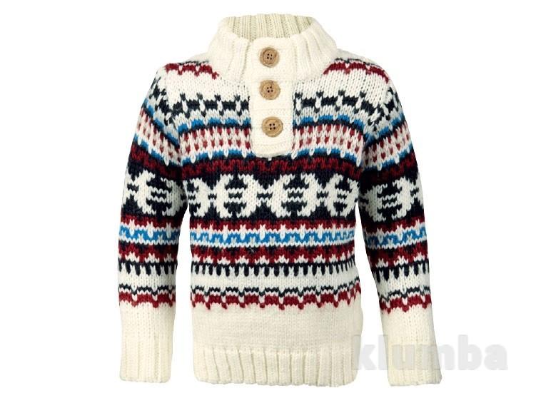 Плетеный свитер (Jumper) для мальчиков Lupilu. фото №1